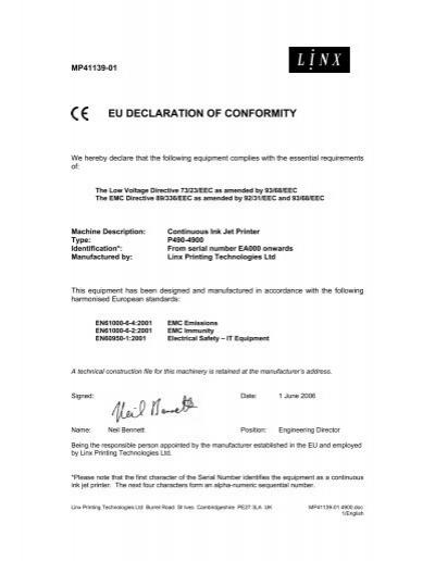 linx cj400 printer manual pdf