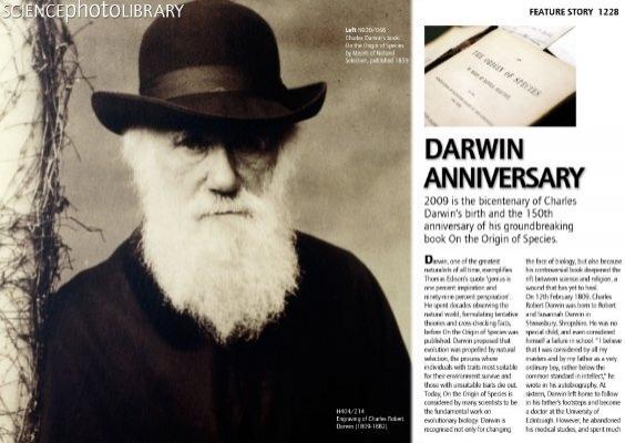 Charles Robert Darwin Science Photo Library