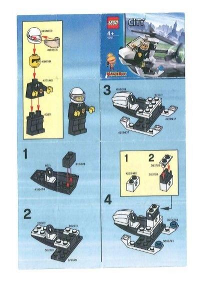 lego city 4991 l 39 helicoptere de la police mes notices de jouets. Black Bedroom Furniture Sets. Home Design Ideas