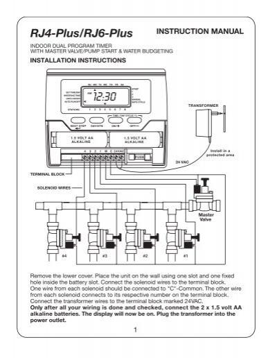 richdel solenoid valves instructions