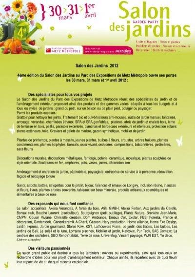 CP Garden v2 - Metz-Expo
