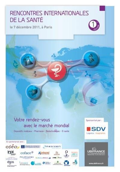 9 et 10 décembre 2013 : Rencontres Internationales Santé Bien-Être