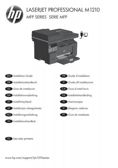 Hp Laserjet Professional M1210 Mfp Series Driver For Mac
