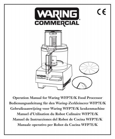 Blender waring commercial food processor 35 qt pro – myheadhurts.