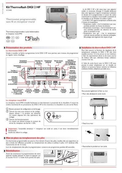 Kit thermoflash digi 2 hf jean paul guy - Thermoflash digi 2 ...