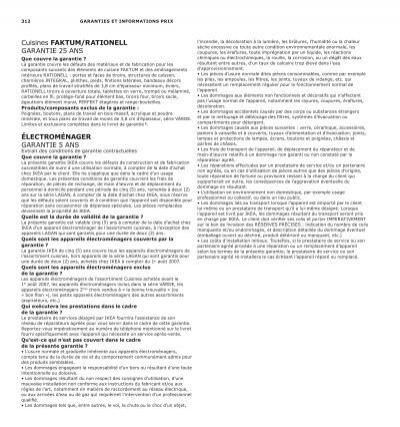 312 Garanties Et Informat