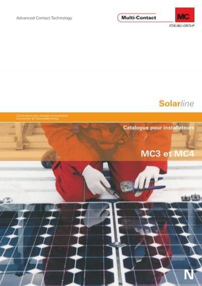 50 Connecteur-Couples mc3 Multi-Contact pour photovoltaïque solaire câble PV-Câble à 4 mm
