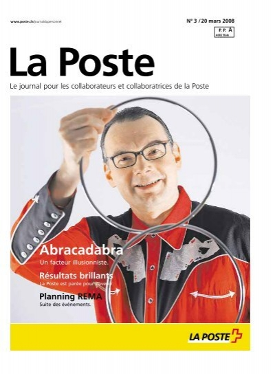 La Poste» - journal du personnel - Die Schweizerische Post