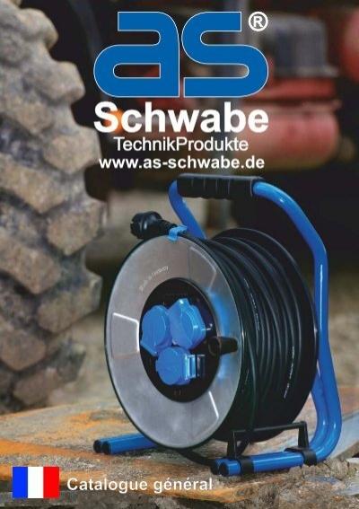 as-Schwabe 70918 Pur C/âble de raccordement H07BQ-F 3G1,0 pour chantiers protection IP 44 Orange 3/m