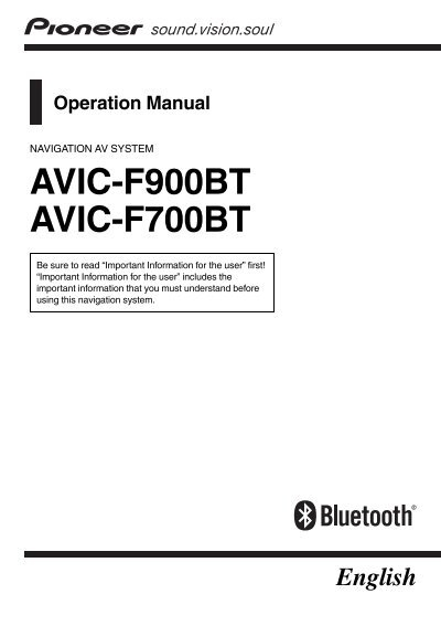 avic f900bt manual pdf simple instruction guide books