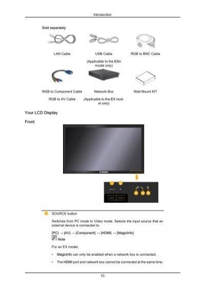 introduction sold separat rh yumpu com Samsung Transform User Guide Samsung RFG298 Manual