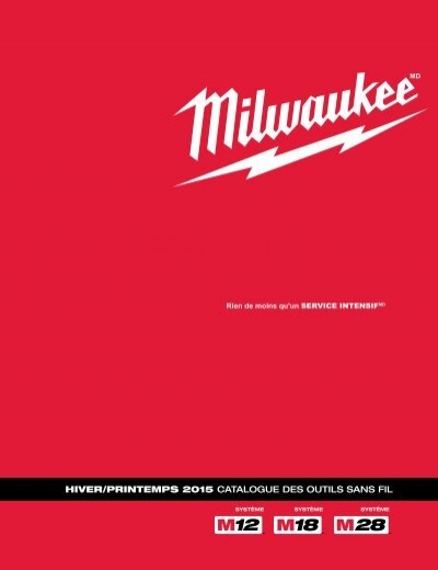 Milwaukee 49-24-2351 M12 DEL Bâton Lumière Aimant Fixation