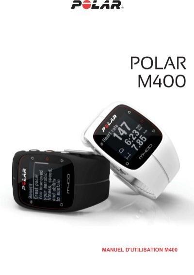 notice polar m400