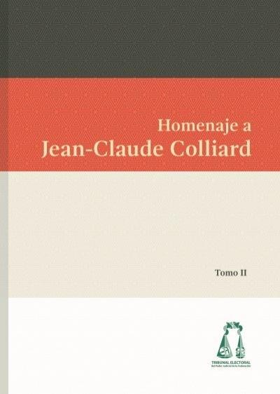 Homenaje A Jean Claude Colliard