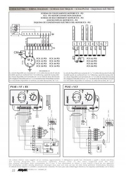 Schemi Elettrici In Pdf : Schemi elettrici wiring d