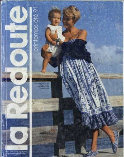 1991 la redoute printemps ete mail order catalogue on dvd - La redoute contact mail ...