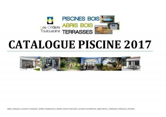 Catalogue Piscine 2017