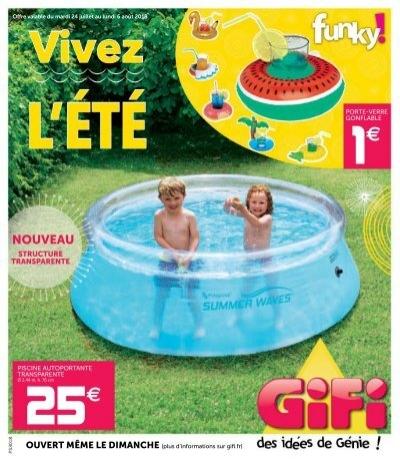 Gifi Offres 24 Juillet 6 Août 2018