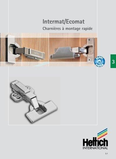 Charnieres /& Compas Hettich Intermat 9956-T42