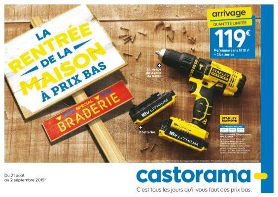 Castorama catalogue 21 aout-2 september 2019