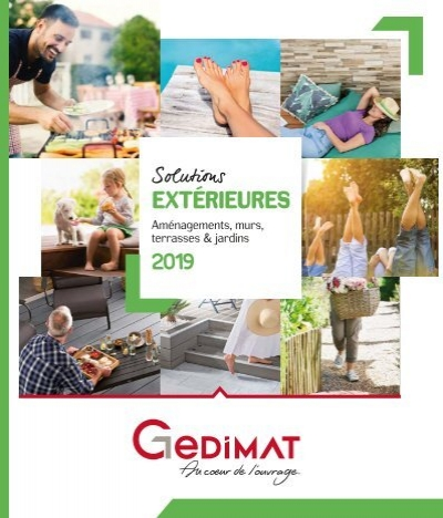 Gedimat Catalogue Exterieurs 2019
