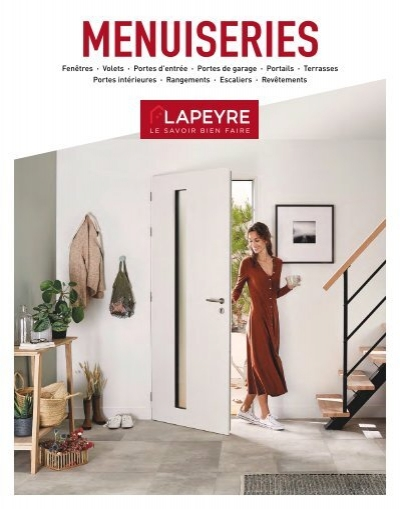 Lapeyre Catalogue Menuiserie 2019