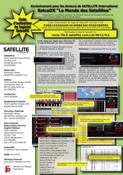 logiciel satcodx