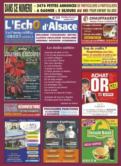 new arrive superior quality shop best sellers Mise en page 1 - Echo d'alsace