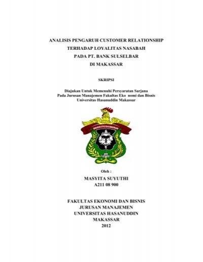 Skripsi Lengkap 0612 Masyita Suyuthi Pdf Unhas
