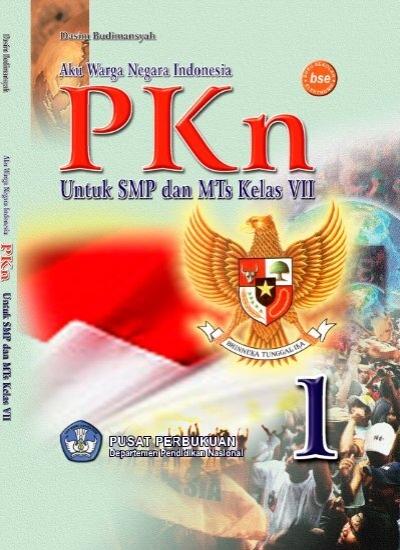Cover Pkn Smp Dan Mts Kelas Vii Psd