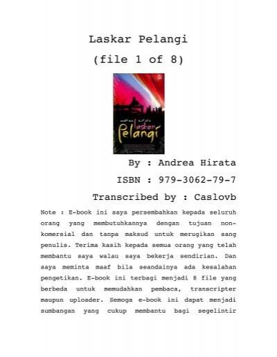 Laskar Pelangi (file 1 of 8) - Wongbagoes