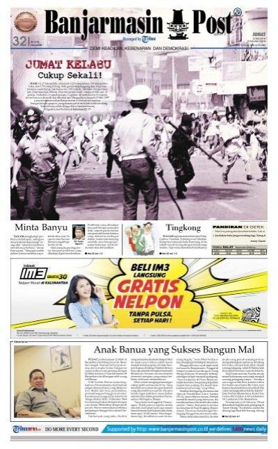 Banjarmasin Post Jumat 23 Mei 2014