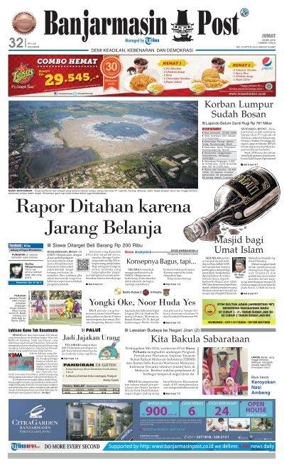 Banjarmasin Post Jumat 30 Mei 2014