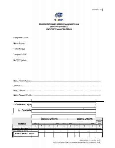 Borang Di Sini Iushrm Universiti Malaysia Perlis
