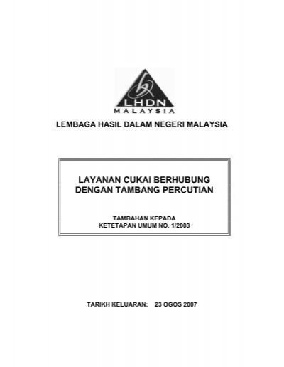 (ird) or lembaga hasil dalam negeri (lhdn) buiding