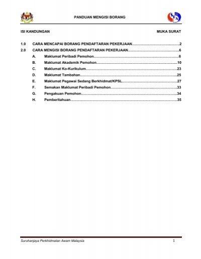 Maklumat Borang Pendaftaran Spa8i Spa Malaysia