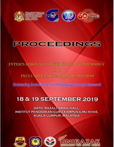 Icpie 2019 Proceedings 2019