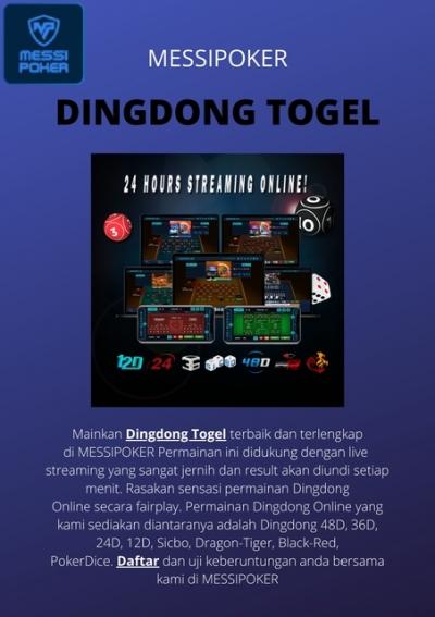 Dingdong Togel