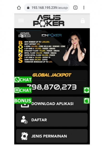 Situs Idn Poker Bonus Terbesar