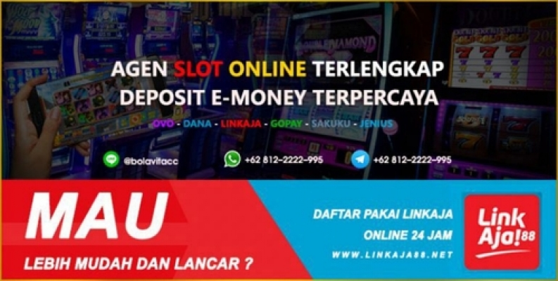 Slot Online Deposit E Money Ovo Gopay Dana