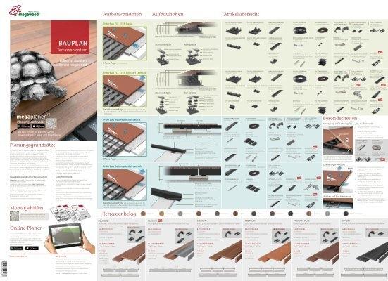 Terren Unterkonstruktion Abstand | Megawood Bauanleitung 2015