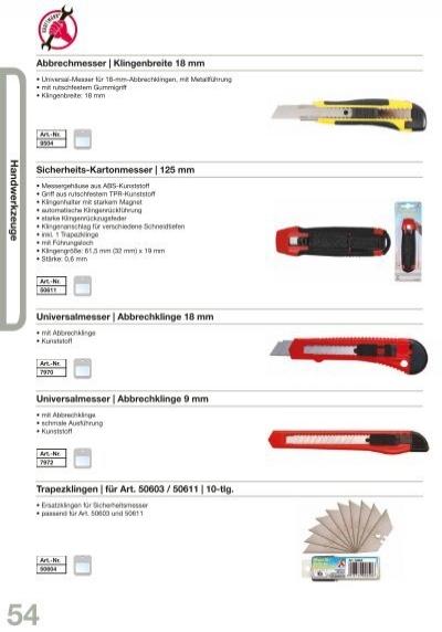 Sicherheits-Kartonmesser 125 mm