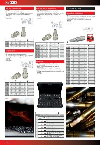 2,5mm 911.3700 Ks/_Tools 1//4 Bit Innensechskant 25mm Kugelkopf