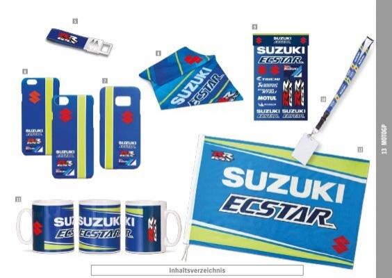 Suzuki Silikon Armband Team Ecstar