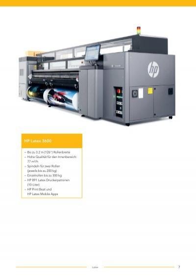 HP Latex 1500 Kostengüns
