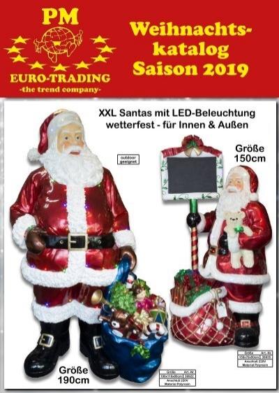 Kataloge Für Weihnachtsdeko.Weihnachtskatalog 2019 Weihnachtsdeko Für Den Großhandel