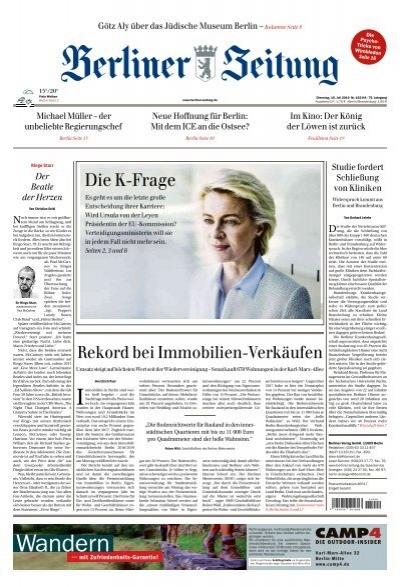 Berliner Zeitung 16.07.2019