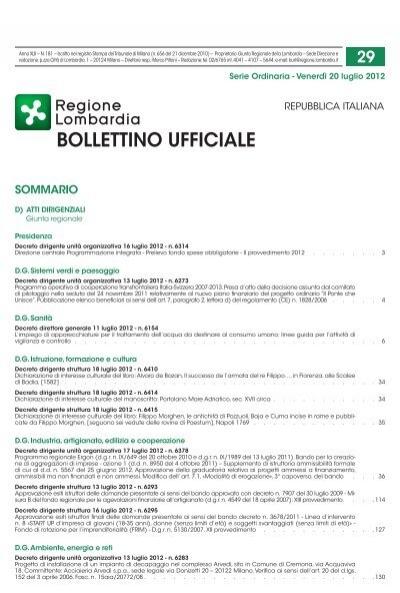 Bollettino Ufficiale Confindustria Lecco