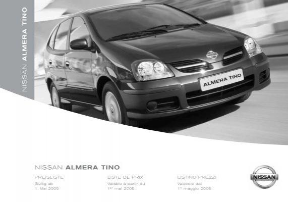 Original Nissan Fernbedienung Anhänger Display Almera /& TINO