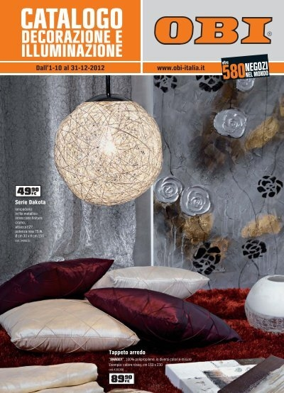 Catalogo obi for Obi illuminazione